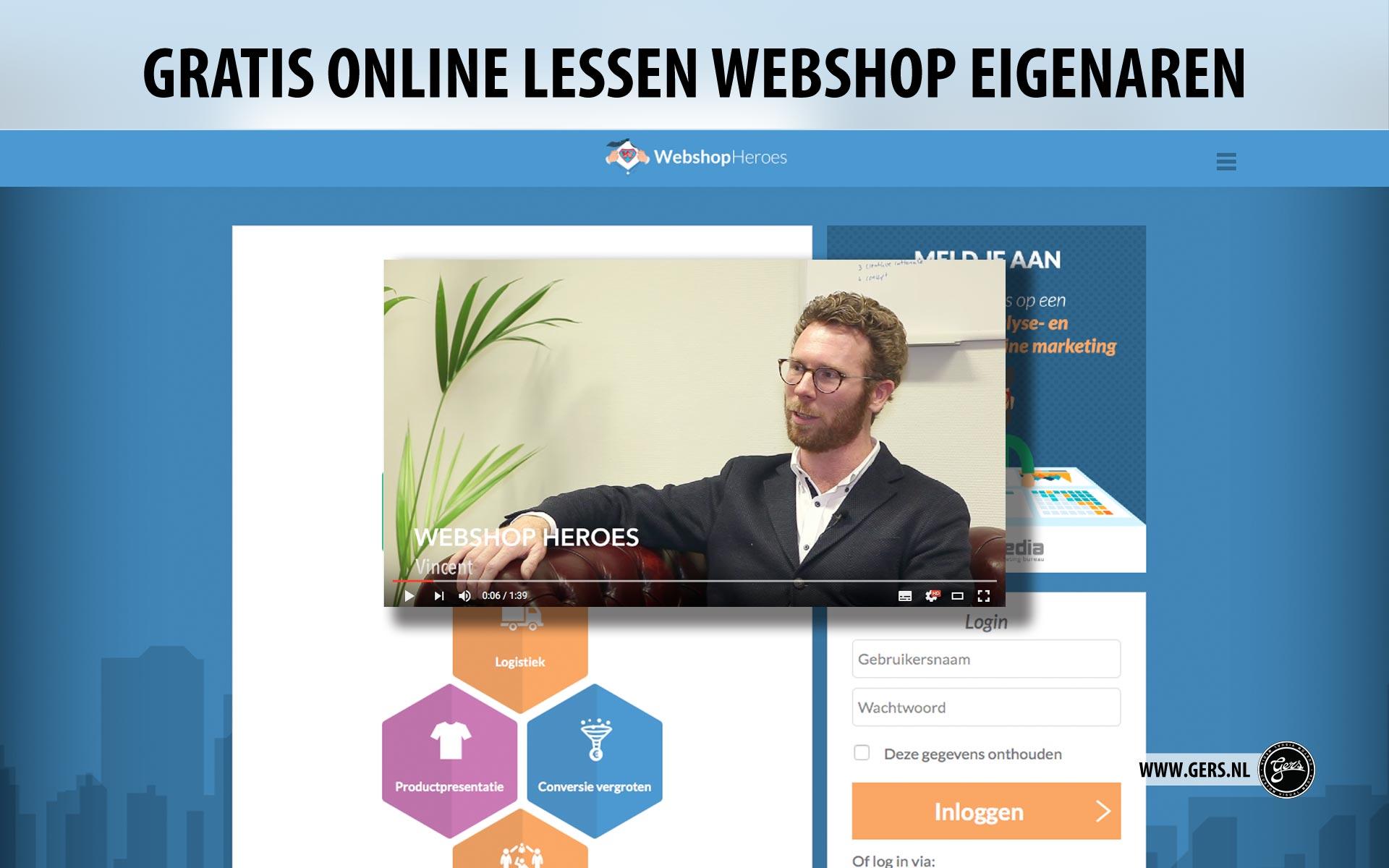 Gratis online lessen voor webshop eigenaren